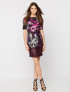 maternity taylor floral shift